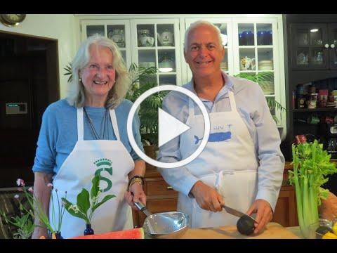 Cooking with the Countess: Rhubarb Compote with Vanilla Cream Sauce