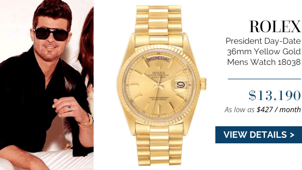 President Day Date Yellow Gold