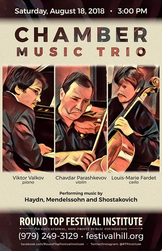 Chamber Music Trio Poster