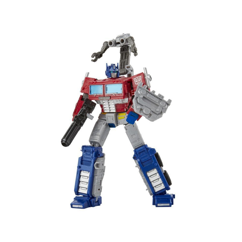 Image of War For Cybertron Earthrise Leader Wave 1: Optimus Prime with Trailer - BACKORDERED JULY 2020