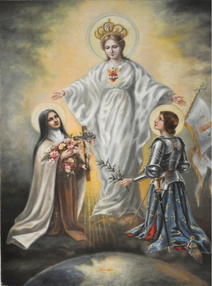 Du 22 au 30 Mai Neuvaine à Ste Jeanne d'Arc pour la France!!! 8c451fe7