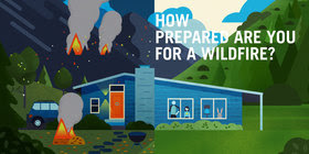Wildfire Preparedness Animation