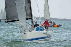 J/111 Xcentric Ripper sailing North Sea Regatta/ Vuurschepen Race