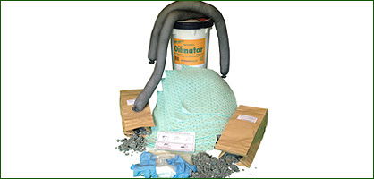 Monarch Green Inc Universal 65 gal spill kit orange label white Products