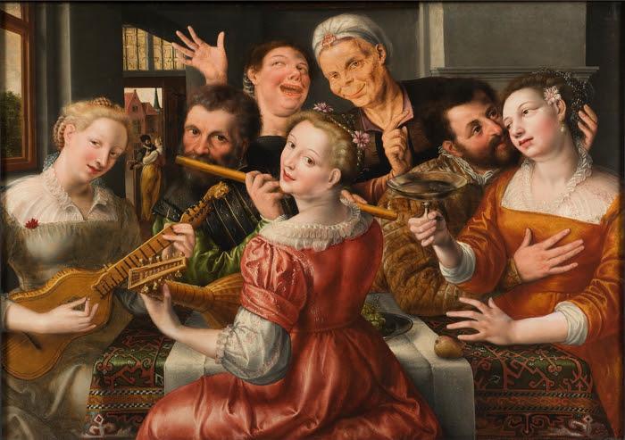A_Merry_Company_(Jan_Massys)_-_Nationalmuseum_-_19721.tif (700x493, 438Kb)