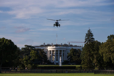 Marine One, with President Obama aboard, leaving the White House in August. His successor, Donald J. Trump, has promised immediate changes upon his arrival.