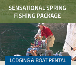 SENSATIONAL SPRING FISHING PACKAGE