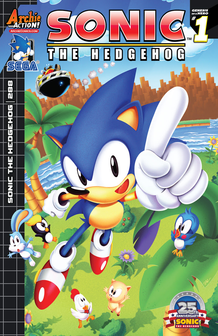 Get SONIC THE HEDGEHOG back issues!