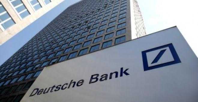 Las oficinas centrales del Deutsche Bank, en Fráncfort. REUTERS
