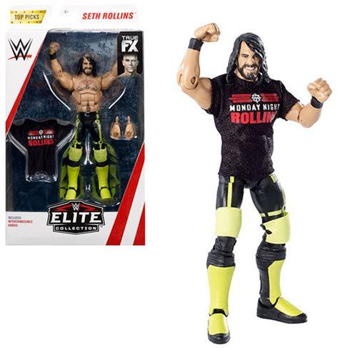Image of WWE Wrestling Top Picks Elite Wave 2 - Seth Rollins Action Figure (RE-STOCK)