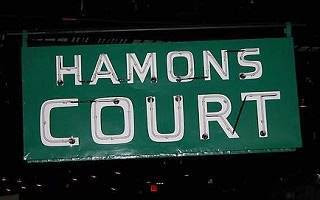 hamons-court sign