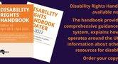Disability Rights Handbook advert