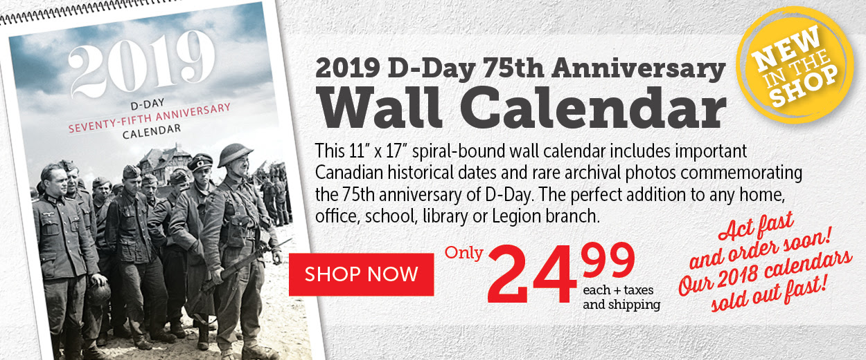 D-Day Wall Calendar - 75th Anniversary