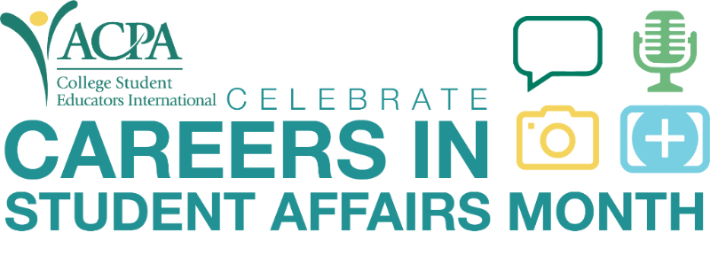 Careers in Student Affairs Month Header image