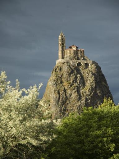 Saint-Michel d'Aiguilhe near Puy-en-Velay,