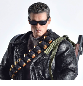 TERMINATOR 2 TWELFTH SCALE SUPREME T-800 ACTION FIGURE