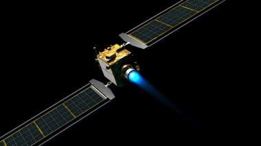 La nave DART estará equipada con paneles solares y planea viajar a 6,6 km por segundo .
