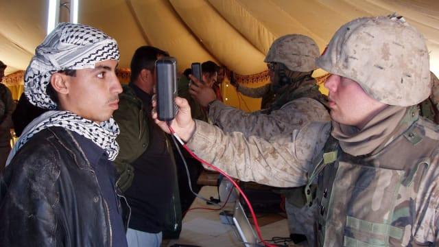 Fallujah eye scans