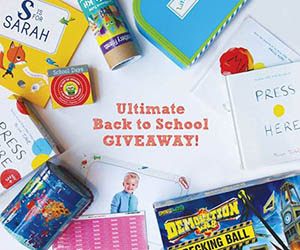 The Ultimate Back to School SWEEPSTAKES!
