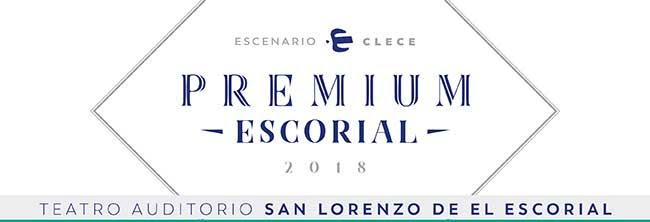 Escenario Clece. Premium Escorial 2018. Teatro Auditorio San Lorenzo de El Escorial