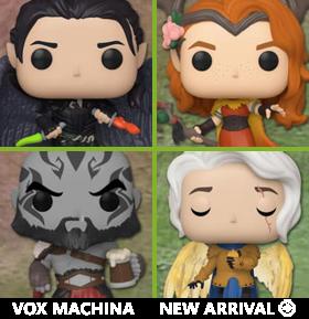 Pop! Games: Vox Machina