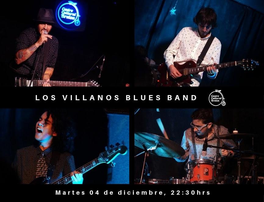 Cartelera de Jazz del 04 al 08 de Diciembre