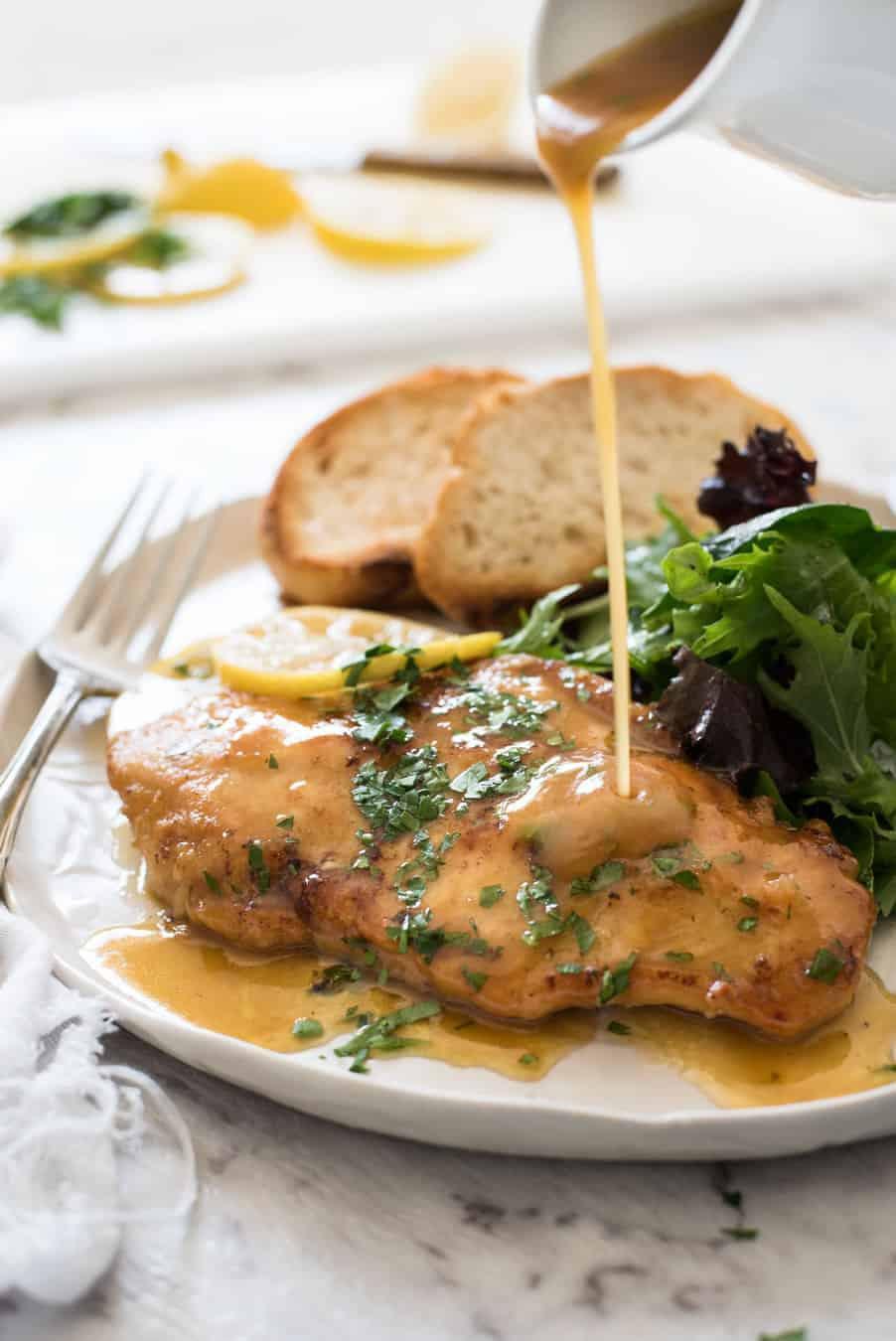Image result for lemon sauce chicken