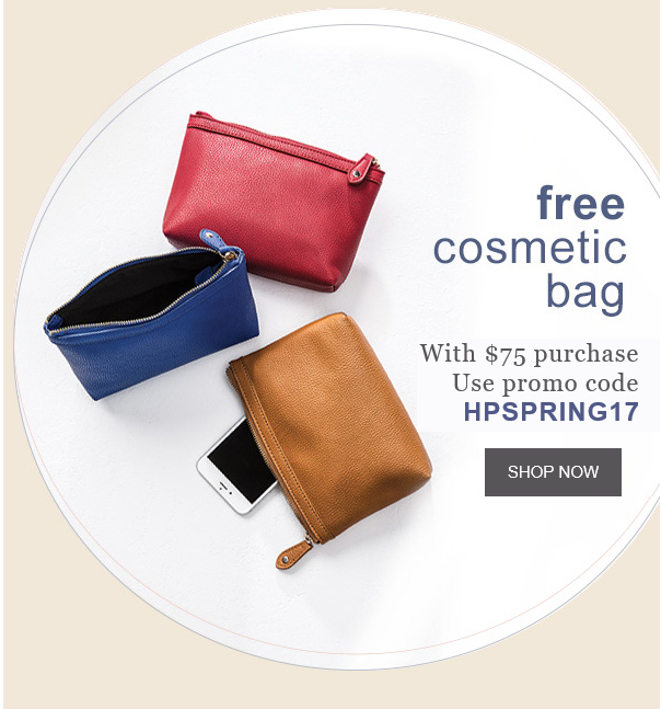 Hush Puppies: FREE Cosmetic Ba...