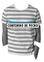 Men's t-shirts & polo shirts size guide - how to choose the right size t-shirt & polo shirtGuía de tallas de camisetas y polos para hombre – cómo elegir tu talla de camisetas y polos adecuada