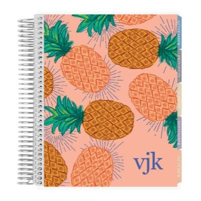 pineapple cover design college student planner