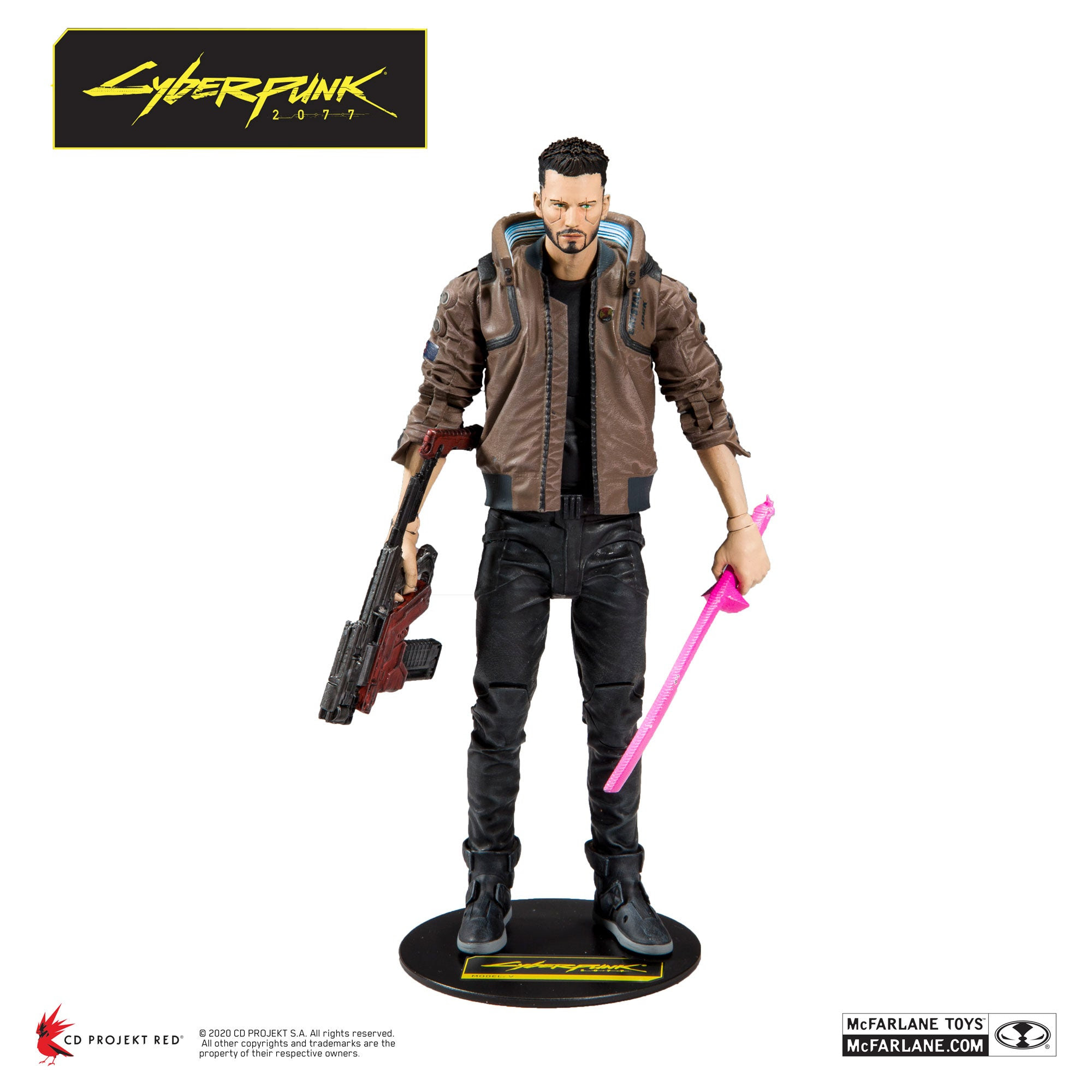 "Image of Cyberpunk 2077 Male V 7"" Action Figure - Q2 2020"