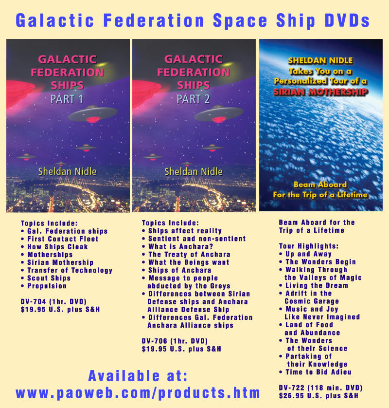 GF Space Ship DVDs Power Point Slide