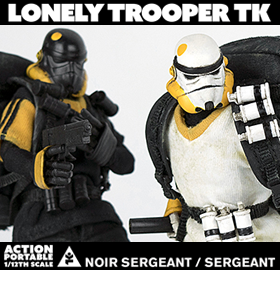 TOMORROW KINGS LONELY TROOPER 1/12 SCALE FIGURES