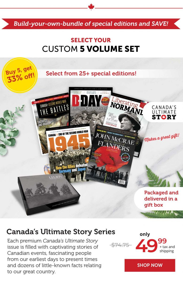 Canada's Ultimate Series – Select Your 5-Volume Set