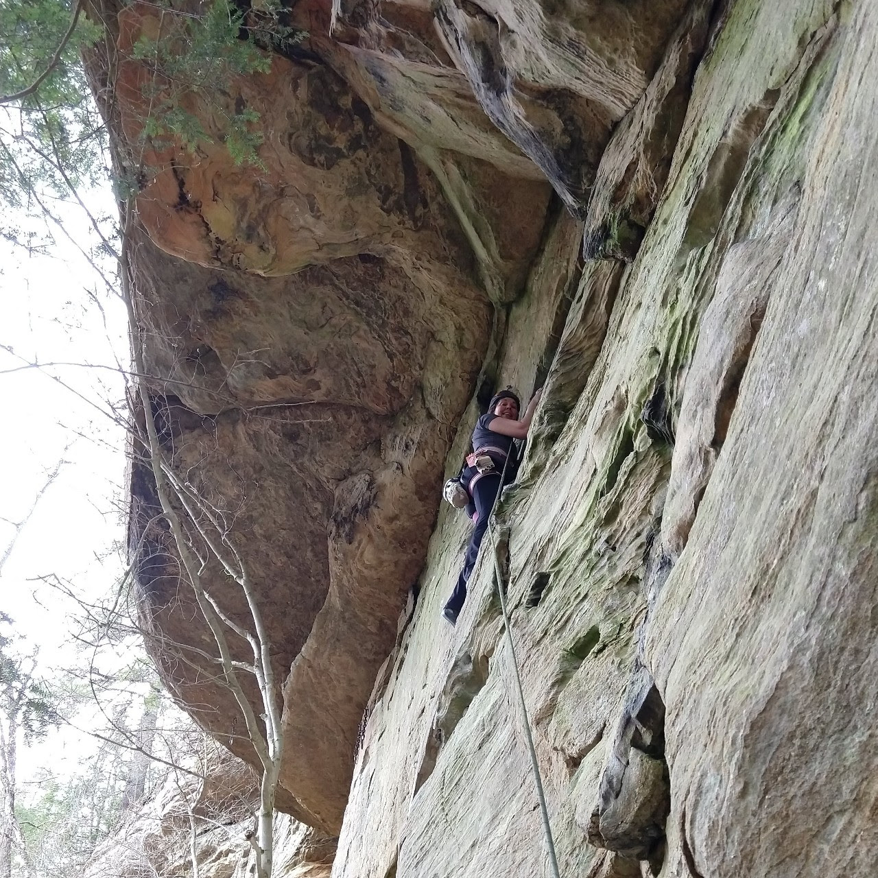 Sally at Red River Gorge