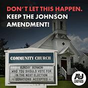 Johnson Amendment