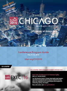Download TDWI Chicago 2016 Brochure