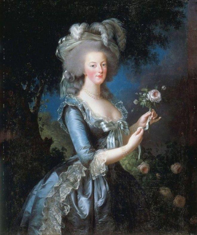 Портрет королевы Марии Антуанетты