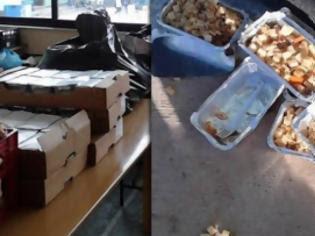 Φωτογραφία για Μαρτυρία - ΣΟΚ: Οι λαθρομετανάστες πετάνε στα σκουπίδια τα δωρεάν γεύματα του Τσίπρα ενώ οι έλληνες πεινάνε [photos]