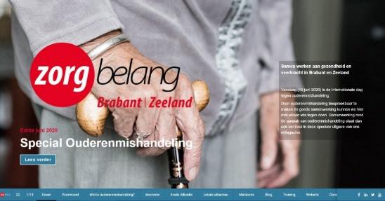 Cover e-magazine Zorgbelang