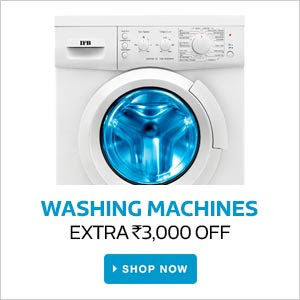 Washing Machines | Extra Rs.15000 Off