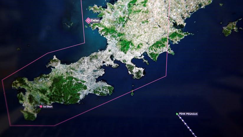 Buque de EE.UU. con una carga millonaria da vueltas en el mar de China por la guerra comercial