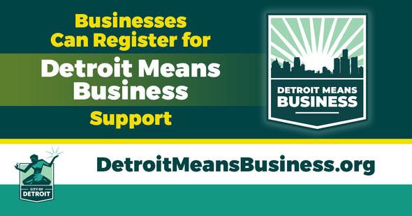 COVID Detroit Means Business Registration Opens