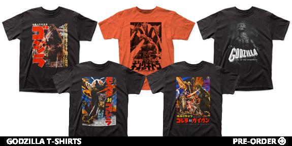 Godzilla Shirts