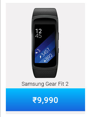 Samsung Gear Fit 2 at Just Rs.9,990