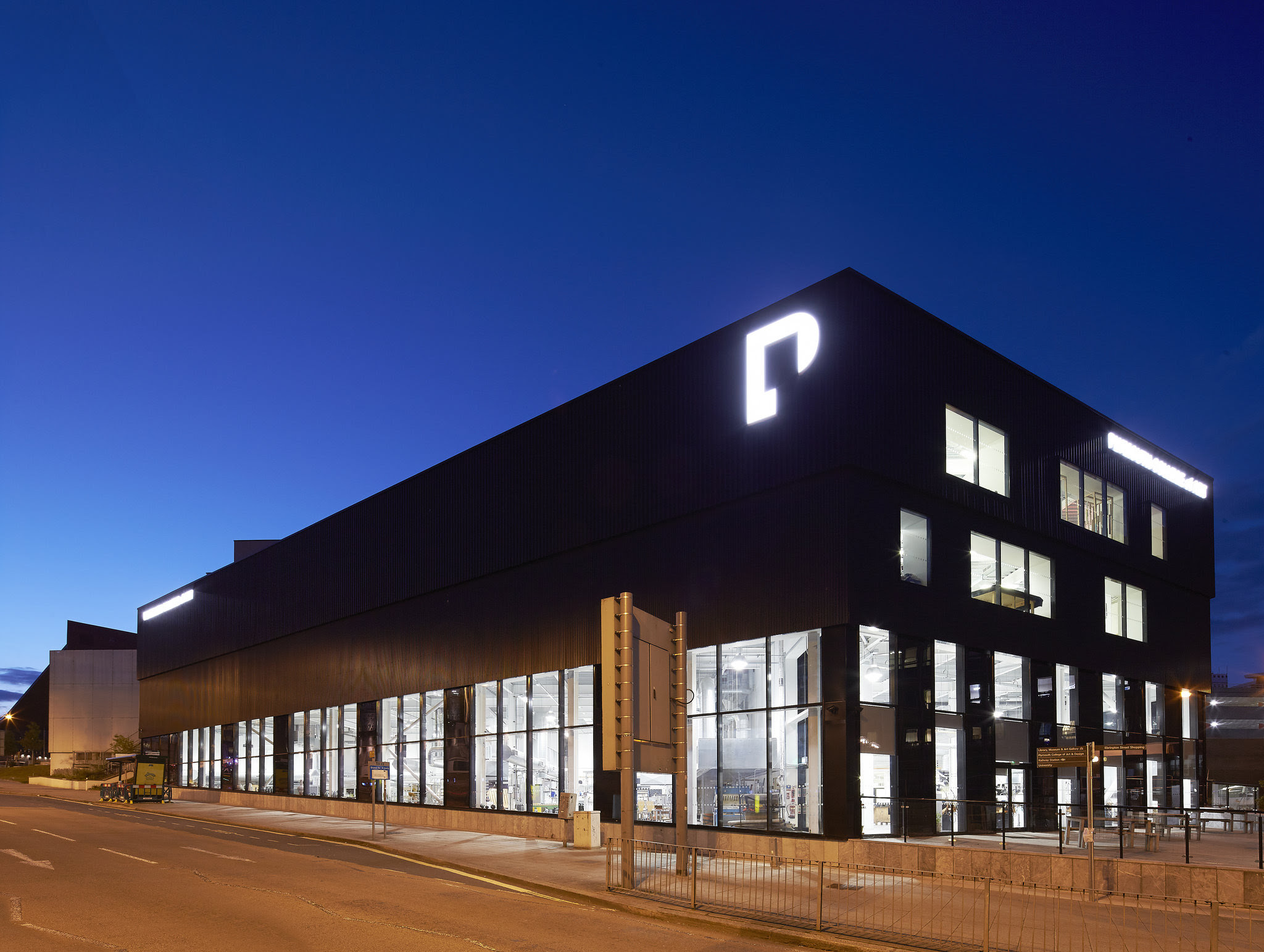 Plymouth College of Art, founders and sponsors of Plymouth School of Creative Arts - Photo by Hufton + Crow Photography