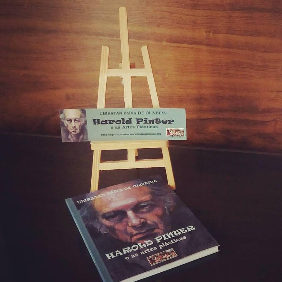 Lançamento do livro Harold Pinter e as Artes Plásticas – Editora Todas as Musas
