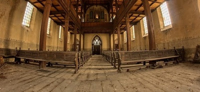 Hiszpański kościół przerobiony na... skatepark