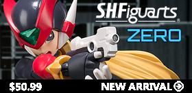 S.H. FIGUARTS - ZERO FIGURE TAMASHII EXCLUSIVE