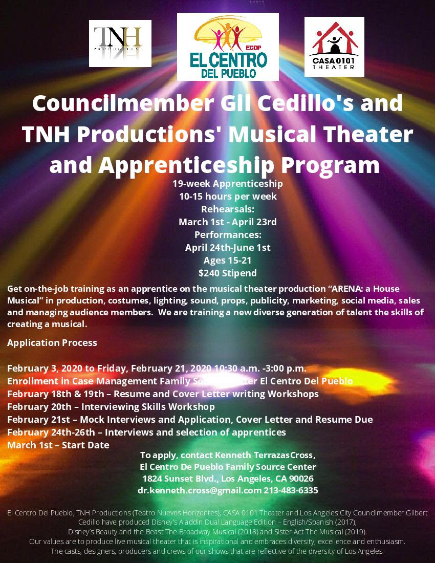Musical Theater Apprenticeship Program
